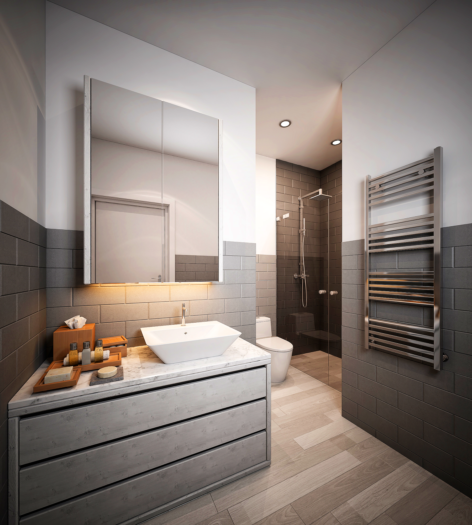 211-Shower Bedroom