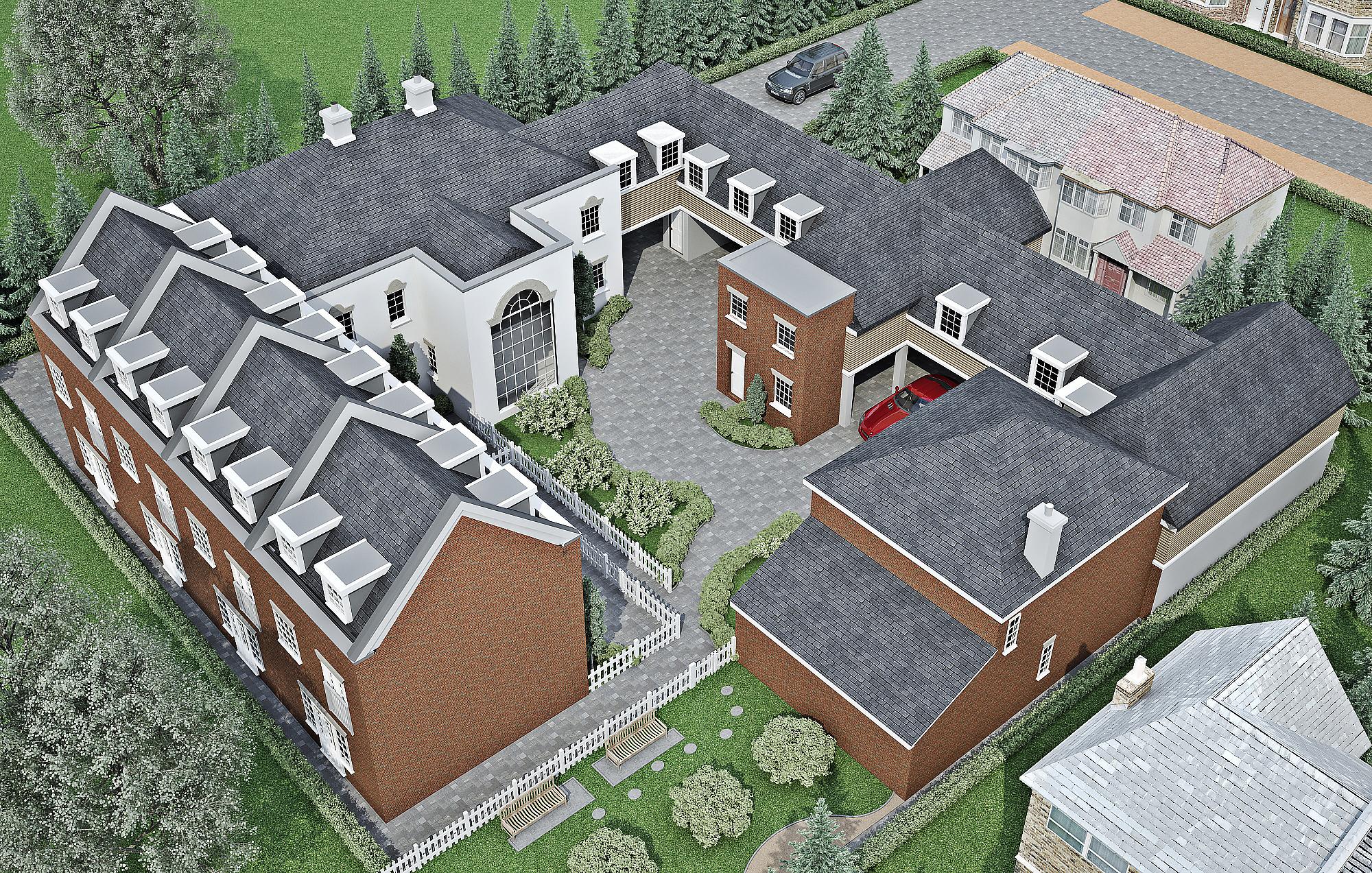 269-Town House Exterior v2