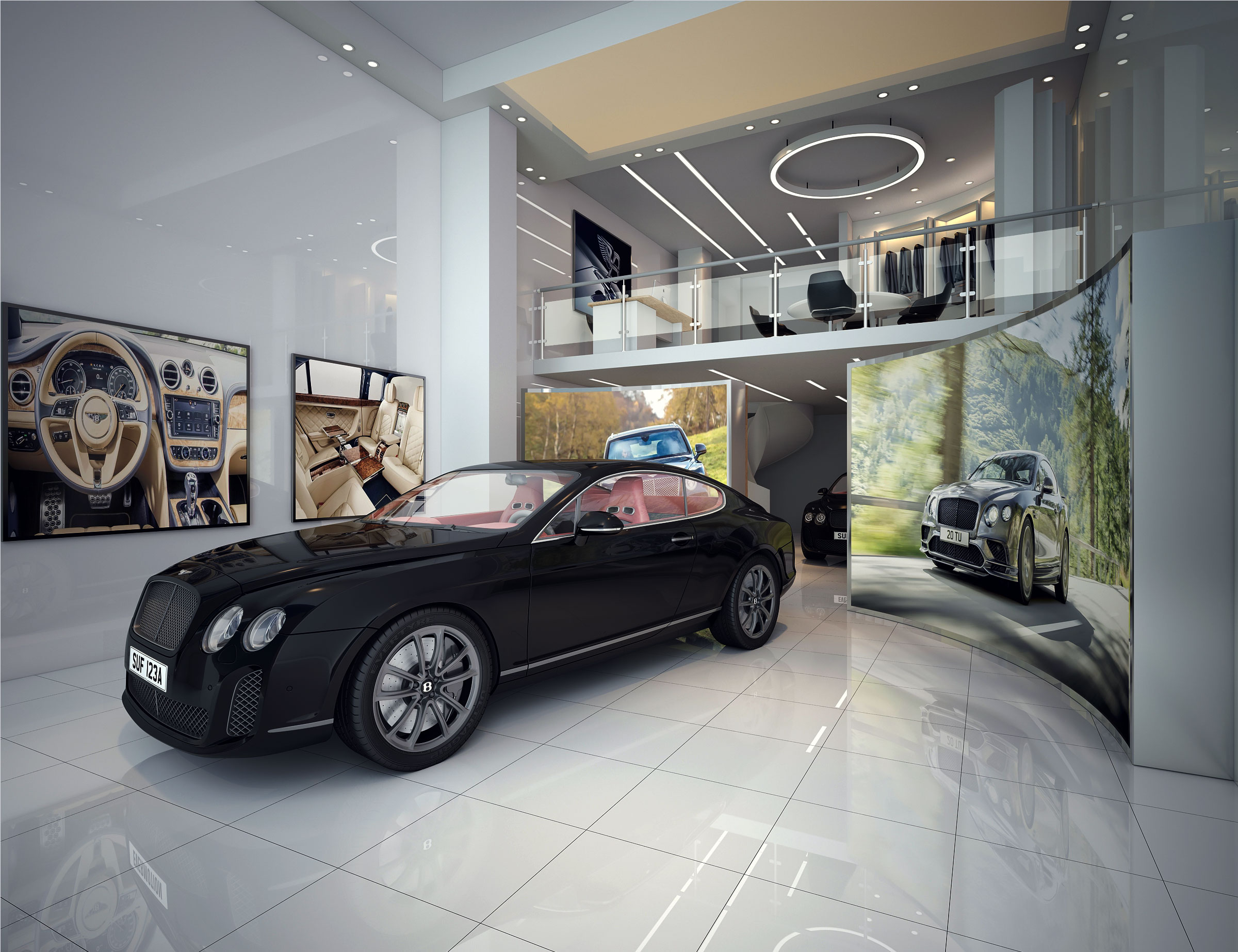 438-Bentley Car Showroom