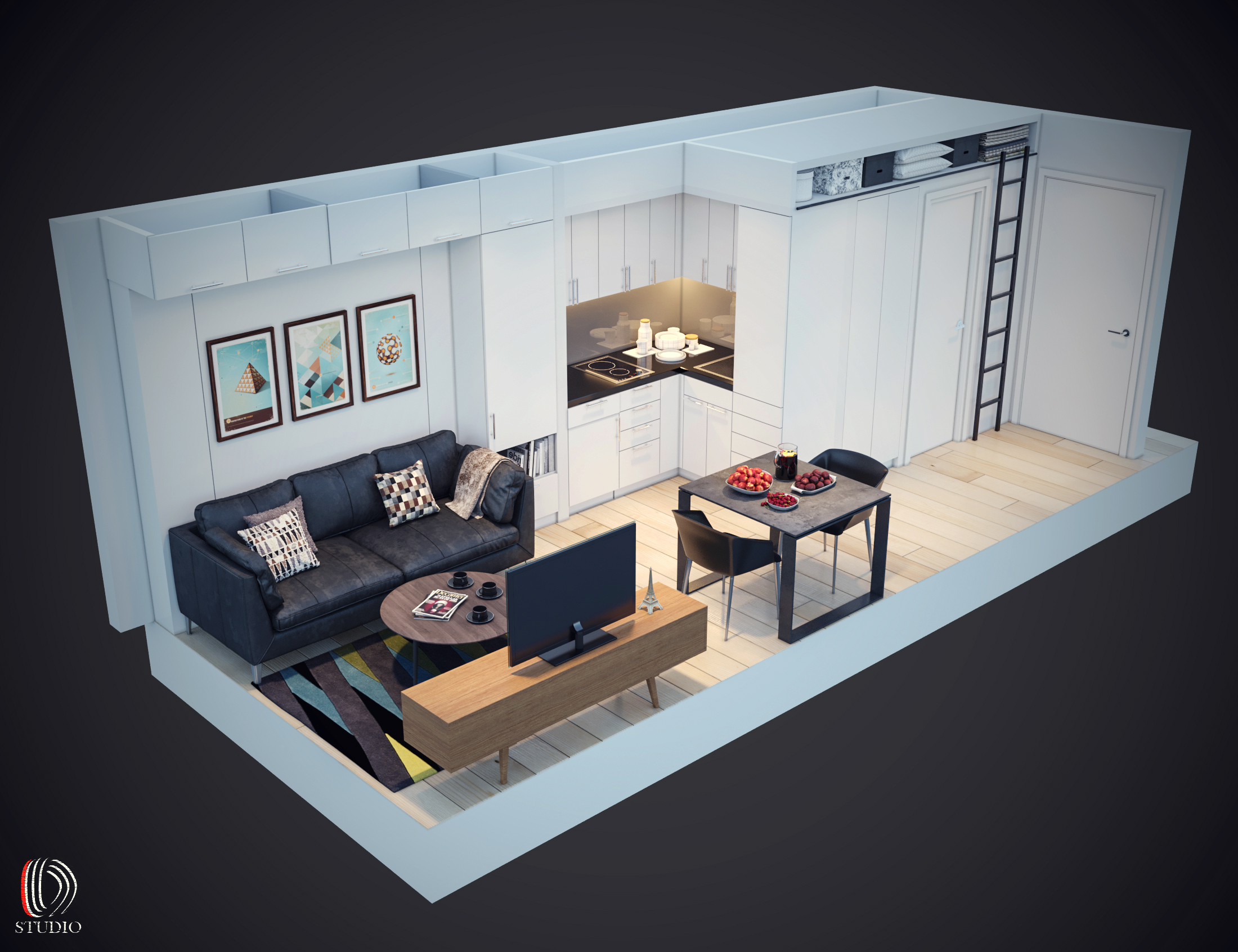 11-3d Room View 1