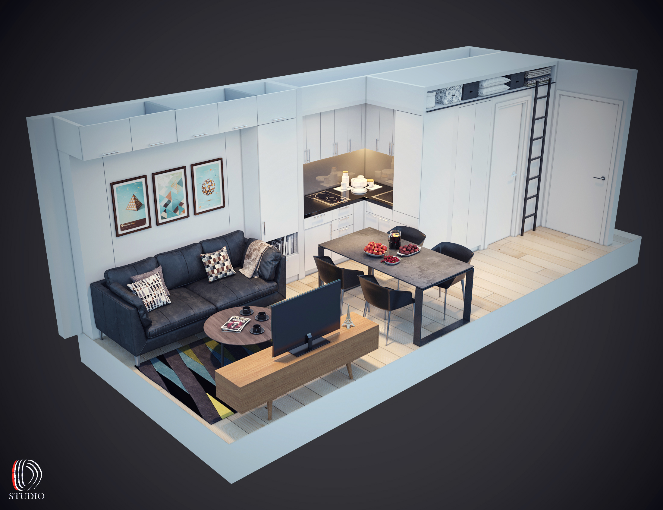 11-3d Room View 2