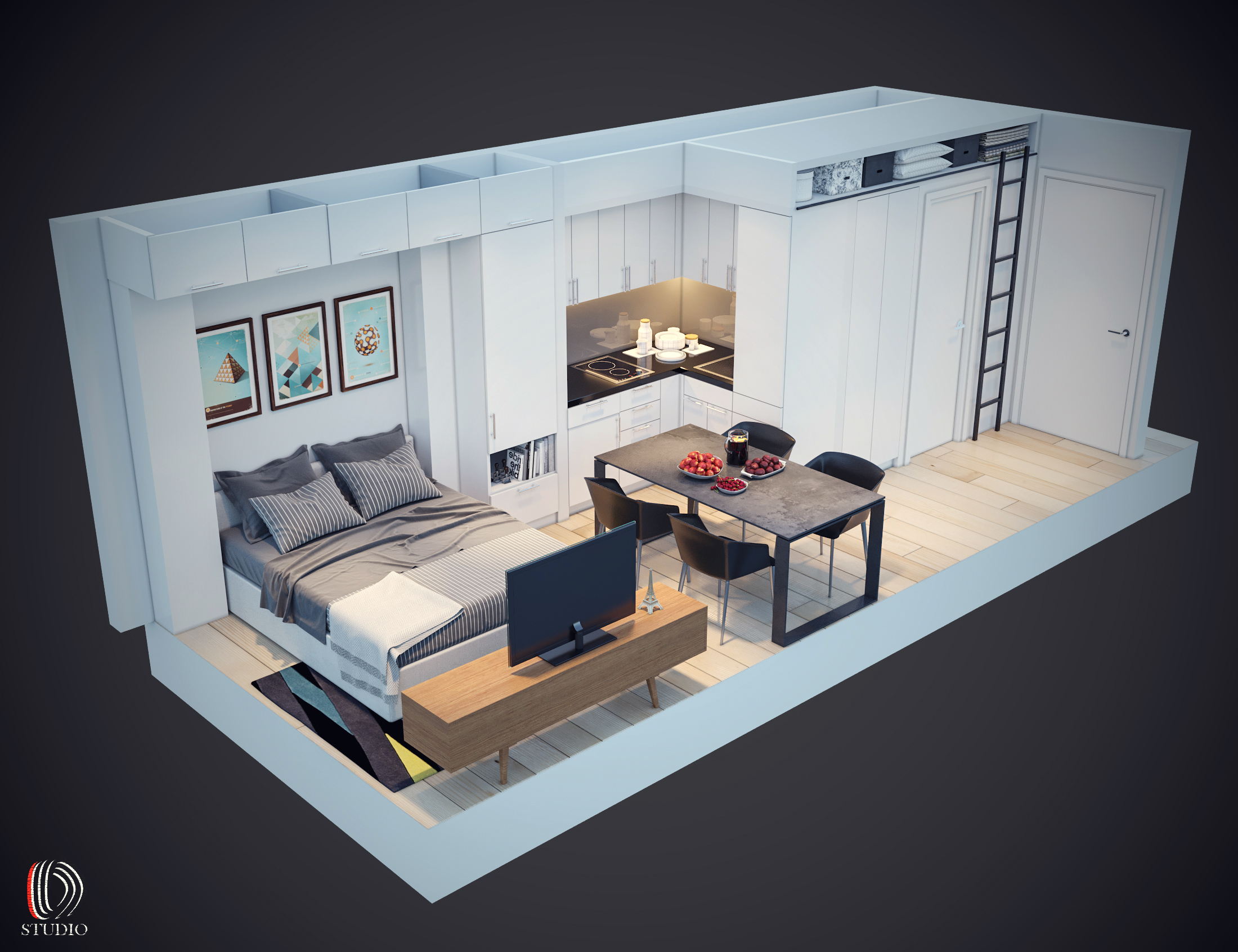 11-3d Room View 3